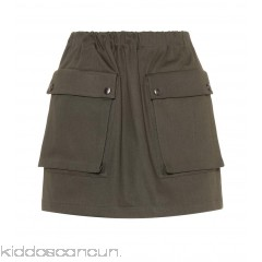 Miu Miu Cotton miniskirt - Womens Mini Skirts P00306551