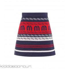 Miu Miu Striped wool-blend miniskirt - Womens Mini Skirts P00297357