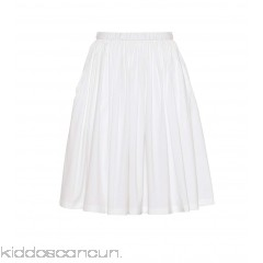 Prada Cotton-blend poplin skirt - Womens Mini Skirts P00299865