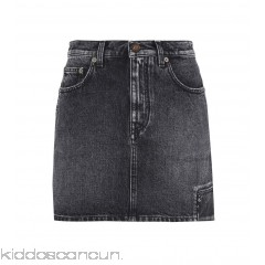 <b>Notice</b>: Undefined index: alt_image in <b>/home/kiddoscancun/public_html/vqmod/vqcache/vq2-catalog_view_theme_cerah_template_product_category.tpl</b> on line <b>73</b>Saint Laurent Denim mini skirt - Womens Mini Skirts P00271016