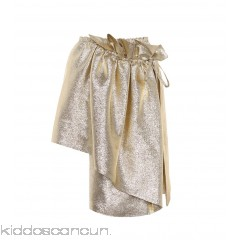 Stella McCartney Metallic wrap skirt - Womens Mini Skirts P00294629