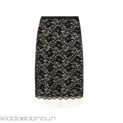 Marc Jacobs Lace overlay skirt - Womens Midi Skirts P00297882