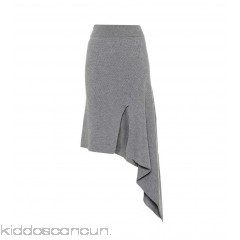 Stella McCartney Knitted wool skirt - Womens Midi Skirts P00295087