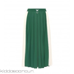 Valentino Pleated midi skirt - Womens Midi Skirts P00304115