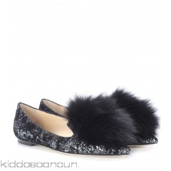 <b>Notice</b>: Undefined index: alt_image in <b>/home/kiddoscancun/public_html/vqmod/vqcache/vq2-catalog_view_theme_cerah_template_product_category.tpl</b> on line <b>73</b>Jimmy Choo Gale Flat fur-trimmed ballerinas - Womens Ballerinas P00299256