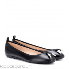 Tod's Leather ballerinas - Womens Ballerinas P00305666