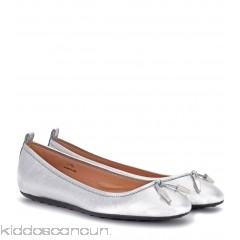 <b>Notice</b>: Undefined index: alt_image in <b>/home/kiddoscancun/public_html/vqmod/vqcache/vq2-catalog_view_theme_cerah_template_product_category.tpl</b> on line <b>73</b>Tod's Metallic leather ballerinas - Womens Ballerinas P00277650