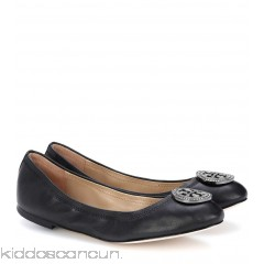 Tory Burch Liana leather ballerina shoes - Womens Ballerinas P00301901