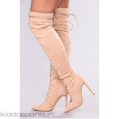 Alessa Over The Knee Boots - Nude - Womens Boots gOtyANP4