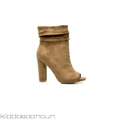 Classy And Sassy Bootie - Taupe - Womens Boots tZlXUq9G