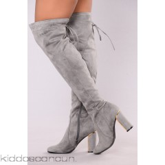 Dem Boots - Grey - Womens Boots 2m8cCHpH