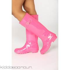 Don't Rain On Me Boots - Pink - Womens Boots OPYP1NEA