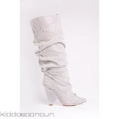 Glammed Out Boot - Silver - Womens Boots 9t6a4P9c
