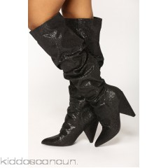 Hollywood Heel Boot - Black - Womens Boots tnChE4Gg