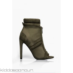 I Could Be Prosueded Bootie - Olive - Womens Boots RpgL8zdA
