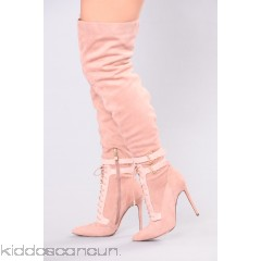 Sexy Over The Knee Boot - Blush - Womens Boots fclyg5eW