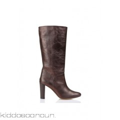 TILA MARCH - Women - Heeled metallic leather boots tcLpprnD