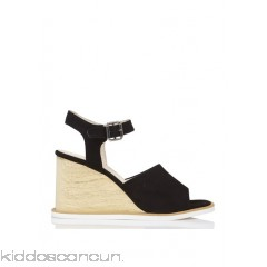 ANAKI - Women - Suede wedge sandals WtJ2iVpx