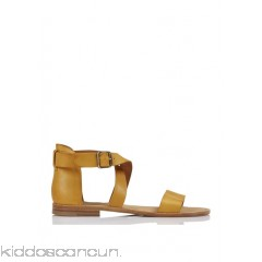 ANTHOLOGY PARIS - Women - Flat leather sandals lCTk15gn