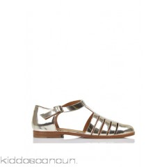 ANTHOLOGY PARIS - Women - Metallic leather T-bar sandals CvfAnKXv