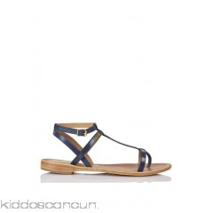 LES TROPEZIENNES - Women - Flat leather sandals ecZpfxoC