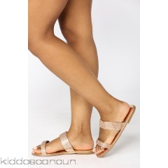 Miranda Flat Sandal - Rose Gold - Womens Sandals 5WbpQ1E4