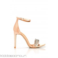 Christal Satin Heel - Blush - Womens Heels NkRkviUL