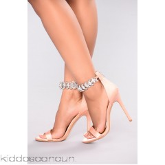 Lucy Jeweled Heel - Blush - Womens Heels aW112WaZ
