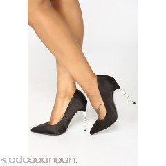 Spiral To Heaven Heels - Black - Womens Heels sA4NmNqR