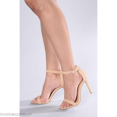 Strapped Success Heel - Nude - Womens Heels SoSWcS12