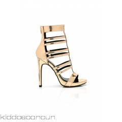 Strappy Situation Heel - Rose Gold - Womens Heels 7sLH8QCc
