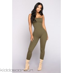 Buenos Aires Jumpsuit - Olive - Womens Jumpsuits 2bBvhOTy