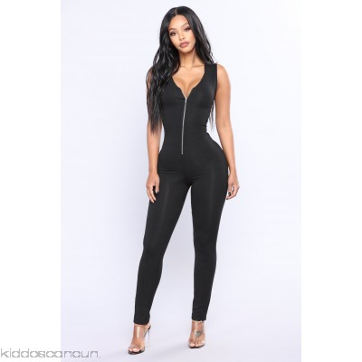 From The Hood Jumpsuit - Black - Womens Jumpsuits zEg51wi2
