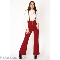 Jump In The Ring Jumpsuit - Burgundy - Womens Jumpsuits y8LH1dkg