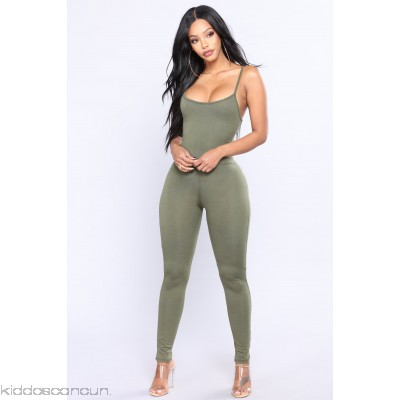 This Season Jumpsuit - Olive - Womens Jumpsuits b5oGvkVq