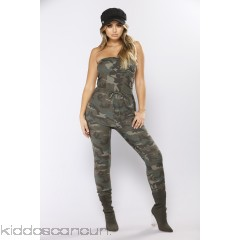 Troop Leader Camouflage Jumpsuit - Camo - Womens Jumpsuits 5HjpxVuA
