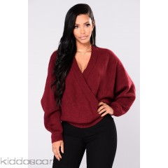 Anne Marie Sweater Top - Burgundy - Womens Sweaters pslXsoIX