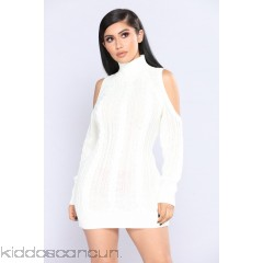 Evanna Cold Shoulder Sweater - Ivory - Womens Sweaters qY4JdkDJ