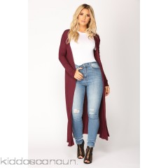 Got You Schooled Cardigan - Wine - Womens Sweaters 1bjF6FLy
