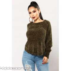 Last Chance Sweater - Olive - Womens Sweaters vym3V4Ej