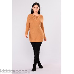Melanie Sweater - Dusty Mustard - Womens Sweaters Eb6L8Akn