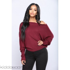 Off With His Head Sweater - Burgundy - Womens Sweaters qMwFqWaL