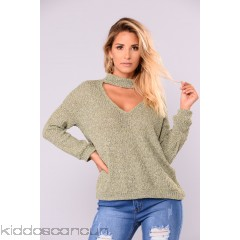 Only Love Sweater - Olive - Womens Sweaters L1rpxsFO
