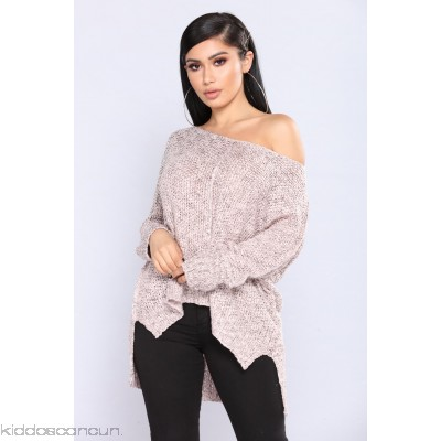 Runaway Babe Sweater - Mauve - Womens Sweaters XhflnZXk