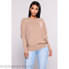 Stealing The Scene Oversized Sweater - Mocha - Womens Sweaters ZsFcQ075