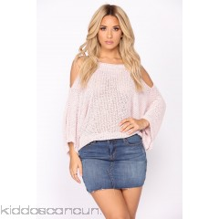 We Almost Had It Sweater - Pink - Womens Sweaters 3blemVcT
