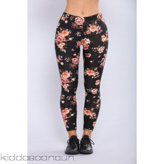 Flowers In Bloom Leggings - Floral - Womens Leggings O5qDXLTC