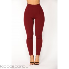 Victoria High Waisted Leggings - Wine - Womens Leggings qCcvV5GJ
