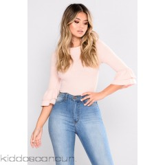Got What You Want Ruffle Top - Rose Pink - Womens Fashion Tops KtuNZHyV