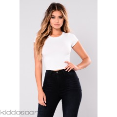 Jaclyn Crop Top - White - Womens Fashion Tops allmrqGs